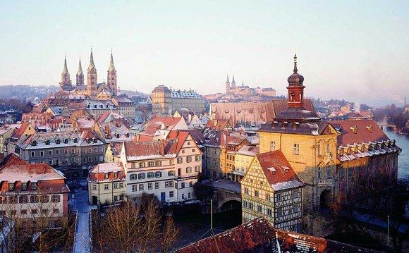 Bavarian cities towns & short