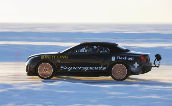 BENTLEY SUPERSPORTS ICE SPEED