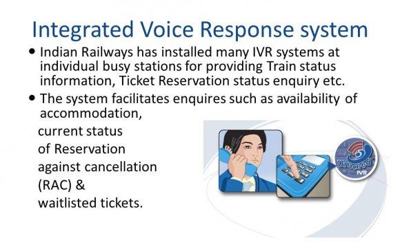 Train status information