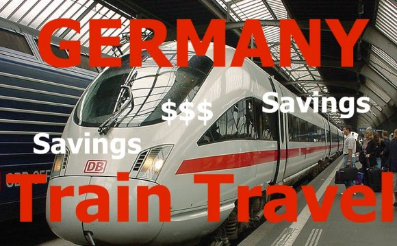 Train booking in Germany