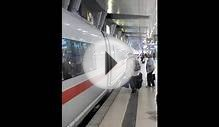 DB ICE Train at Frankfurt Airport