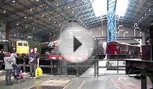 Flying Scotsman Launch in Black at National Railway Museum