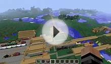 Mod Vorstellung : Trains and Zeppelin / Minecraft [German
