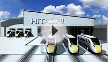 Newton Aycliffe CGI video from Hitachi Rail Europe