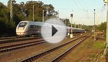 The new High Speed Train for Germany the ICE 4 Testtrain