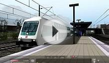 Train simulator 2014: S-Bahn to the Airport with DBbzf+BR